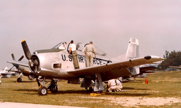 T 28A West Virginia ANG c1957