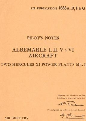 Pilot's notes Albermarle