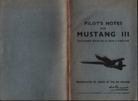 Pilot's Notes for Mustang III