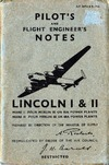 A.P. 2847A & B Pilot's and Flight Engineer's Notes Lincoln I & II