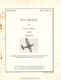 AN 01-40ALA-1 Pilot's handbook for AD-2 aircraft