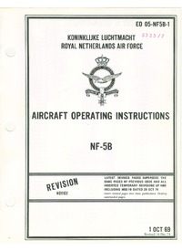 4062 E0 05-NF5B-1 NF-5B Aircraft Operating Instructions