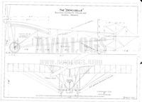 Blueprints Santos-Dumont Demoiselle N20