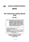 ATR 42 Non destructive testing manual NTM - Volume 1