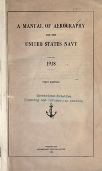 A manual of Aerography for the United States Navy
