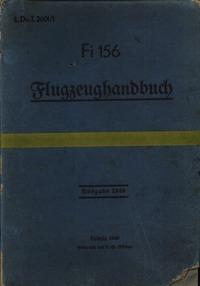 L.Dv.I2601/1 Fi156 Flugzeughandbuch