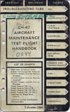 CH-47 Aircraft Maintenance Test Flight Handbook