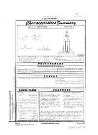 2893 X-20 Dynasoar Characteristics Summary - March 1962