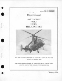 AN 01-260HBA-1 Flight Manual HOK-1 and HUK-1 Helicopters