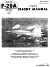 NTM 1F-20A-1 - Northtrop F-20A Utility Flight Manual