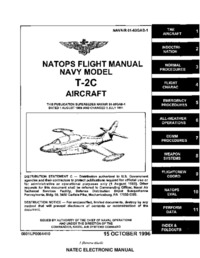 Navair 01-60GAB-1 Natops Flight Manual T-2C Aircraft