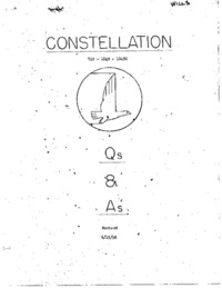Constellation 749-1049-1049C Questions and Answers - Eastern Air Lines