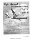 T.O. 1C-133A-1-1 Flight Manual Performance Data C-133A and C-133B Aircraft