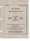 Navaer 01-25AC-501 Pilot's handbook of flight operating instructions SB2C3, SBF-3, SBW-3, SB2C-4, SBF-4, SBW-4 airplanes