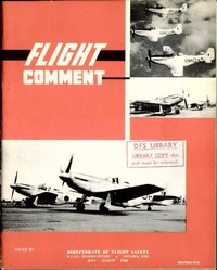 RCAF Flight comment 1956-4
