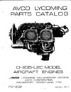 Parts Catalog O-235-L2C series Aircraft Engines