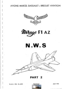 DMD INS. No 4674 - Mirage F1 AZ N.W.S - part 2