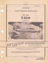 AN 01-60JLA-1 Handbook Flight operating instructions F-86A