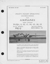 AN 01-60GE-1 Pilot's flight operating instructions for airplanes B-25J, PBJ-1J, Mitchell III