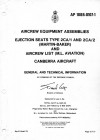 A.P. 108B-0107-1 Ejection Seats Type 2CA/1 and 2CA/2 and Aircrew list