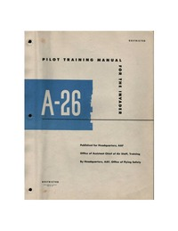 Pilot Training Manual for the A-26 Invader