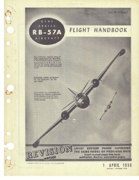 T.O. 1B-57(R)A-1 RB-57A Flight Handbook