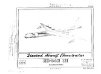 RB-36H-III Peacemaker Standard Aircraft Characteristics - 21 March 1955