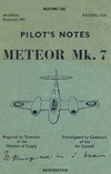 A.P.2210G Pilot's Notes Meteor Mk.7 - 4th Edition