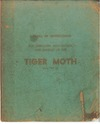 Manual of instructions for operation, Maintenance and rigging of the Tiger Moth (DH Type 82)