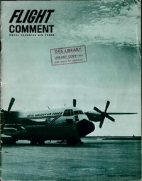 RCAF Flight comment 1961-1