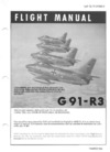 GAF TO 1f-91(R3)-1 Flight Manual G91-R3