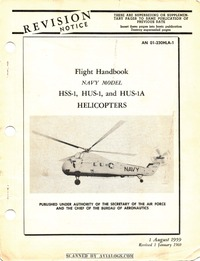 AN 01-230HLA-1 Flight Handbook HSS-1 Seabat, HUS-1 and HUS-1A Seahorse