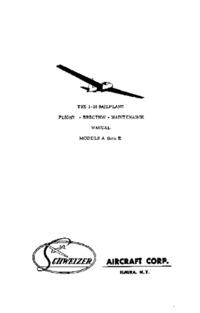 The 1-26 Sailplane Flight-Erection-Maintenance Manual Models A thru E