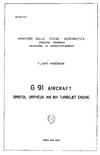 Flight Handbook G 91 Aircraft
