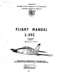 Flight Manual L-39C Albatros