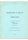 A.P. 101B-1007-15 Lightning F Mk 2A Aircrew Manual