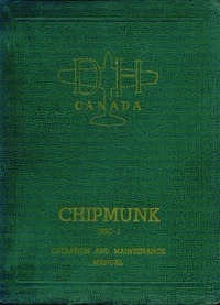 Operation and maintenance manual -  DHC-1 Chipmunk