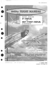 T.O. 1F-101(R)(Y)A-1 Utility Flight Manual F-101 and Rf/YRF-101A Aircraft