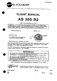 Flight Manual AS 350 B2