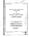 AN 01-110FP-2 Erection and Maintenance Instructions for P-63A and P-63C Airplanes