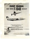 T.O. 1F-104B-1 Flight Manual F-104B