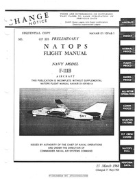 Navair 01-10FAB-1 Natops Flight Manual Navy Model F-111B