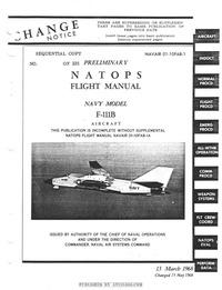 Navair 01-10FAB-1 Natops Flight Manual Navy Model F-111B
