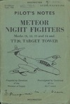 A.P. 2210L,N,N,P & V Pilot's Notes Meteor Night Fighters