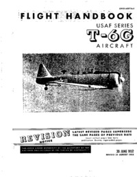AN 01-60FFA-1 Flight Handbook USAF Series T-6G Aircraft