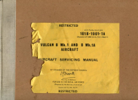 A.P. 101B-1901-1A Vulcan B Mk.1 and B Mk.1A Aircraft - Aircraft Servicing Manual