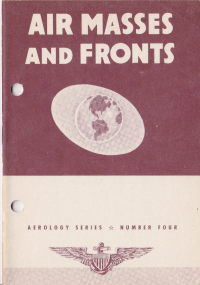 Aerology series - Number 4 - Air masses and fronts