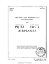 AN 09-5FB-2 Erection and Maintenance Instructions for PQ-8A, TDC-2 Airplanes