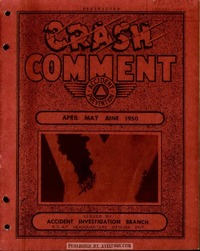 Crash Comment 1950 - 2