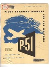 AAF 51-127-5 Pilot training Manual for the P-51 Mustang